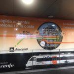 【58歳350日世界一周旅行】20190217スペイン、バルセロナ空港へ1ユーロで行く方法