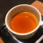 水炊き料亭博多華味鶏 自家製卵のプリンが絶品
