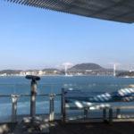 関門海峡ミュージアム 5階 展望デッキは見晴らし最高!おすすめ!